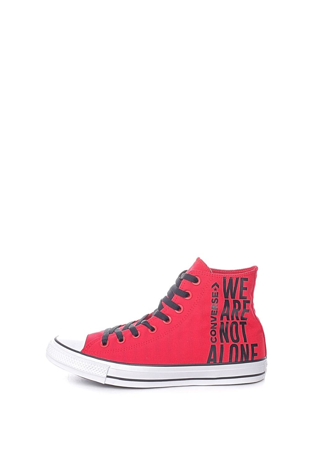 CONVERSE – Unisex sneakers μποτάκια CONVERSE Chuck Taylor All Star κόκκινα