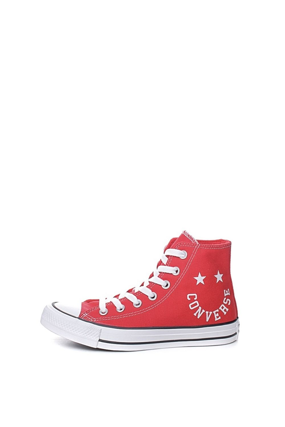 CONVERSE – Unisex ψηλά sneakers CONVERSE CHUCK TAYLOR ALL STAR SMILE κόκκινα