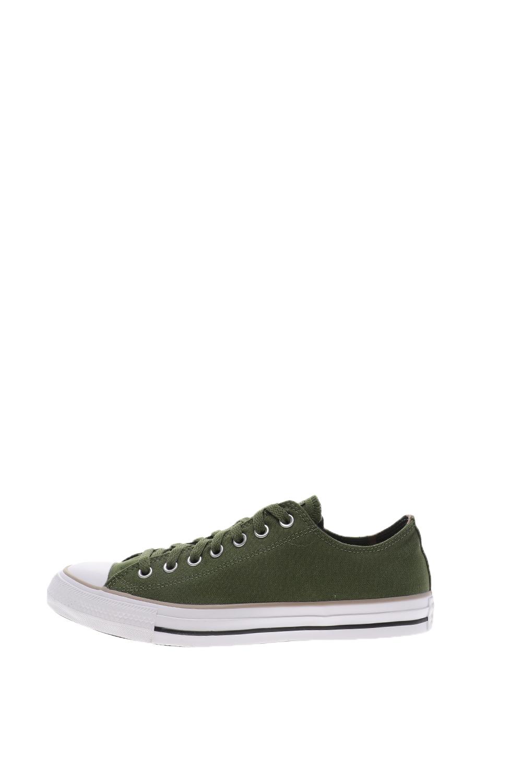 CONVERSE – Unisex sneakers CONVERSE CHUCK TAYLOR ALL STAR CAMO PAT πράσινο-χακί