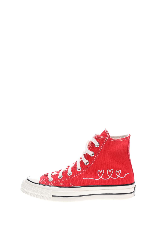 CONVERSE – Unisex ψηλά sneakers CONVERSE Chuck 70 κόκκινα