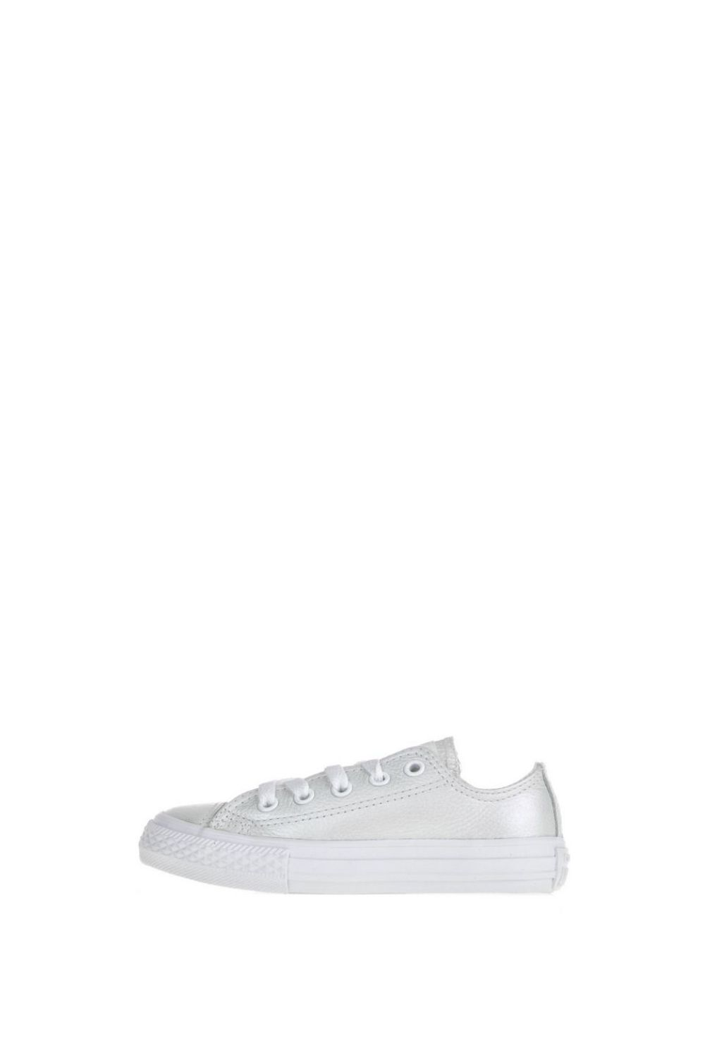 -48% Collective Online CONVERSE – Παιδικά δερμάτινα sneakers Chuck Taylor  All Star Ox λευκά 5bb4cb4393b