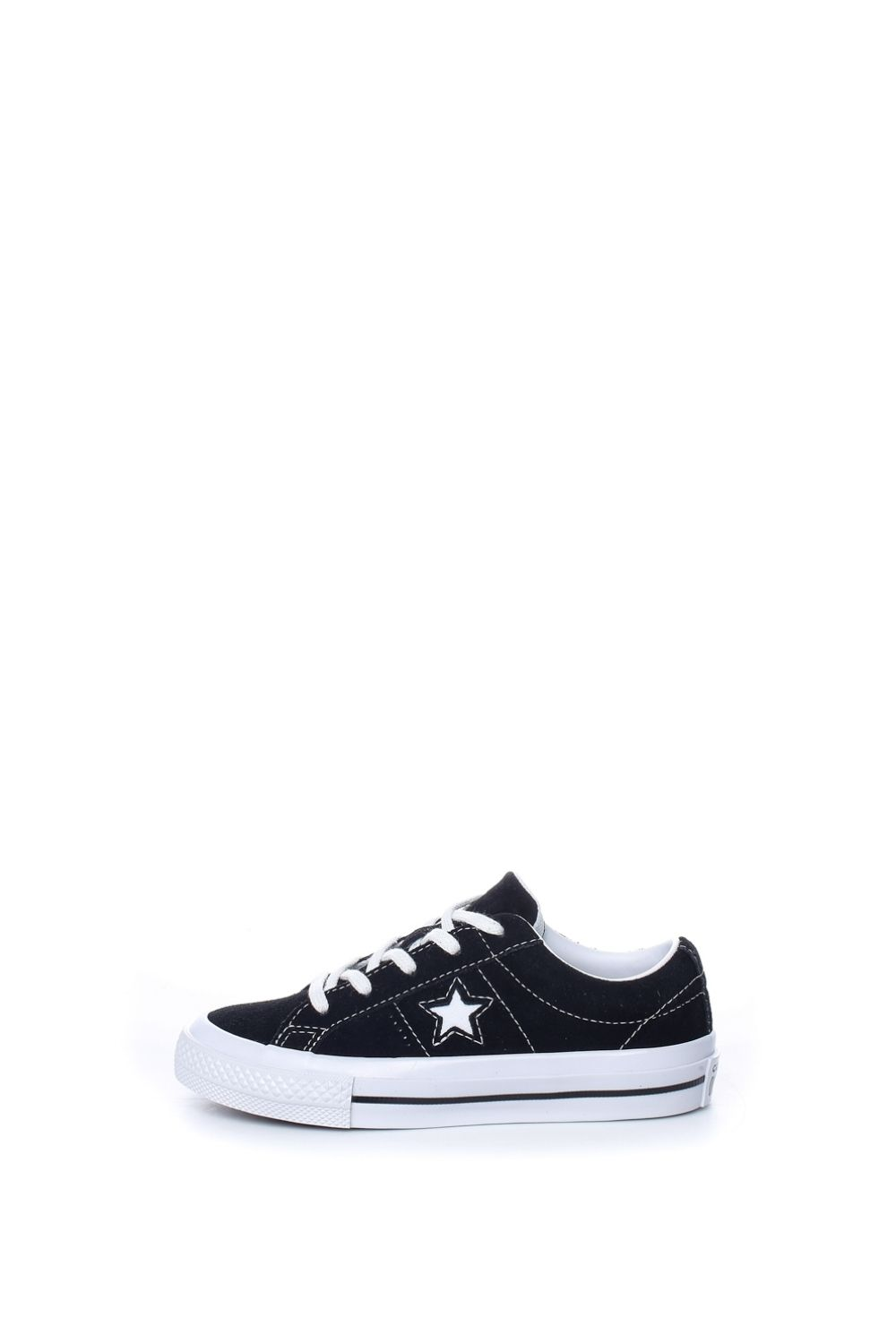 CONVERSE – Παιδικά sneakers CONVERSE ONE STAR μαύρα