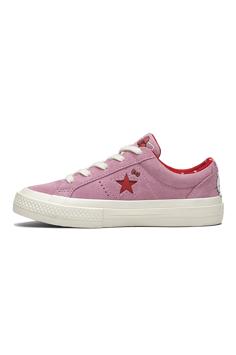 CONVERSE - Κοριτσίστικα Σουέντ Sneakers Converse X Hello Kitty One Star Ροζ