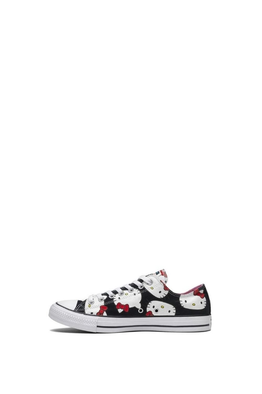 CONVERSE – Παιδικά sneakers Converse x Hello Kitty Chuck Taylor All Star μαύρα