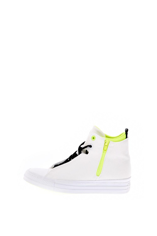 CONVERSE – Γυναικεία ψηλά sneakers CONVERSE Chuck Taylor All Star Selene M λευκά
