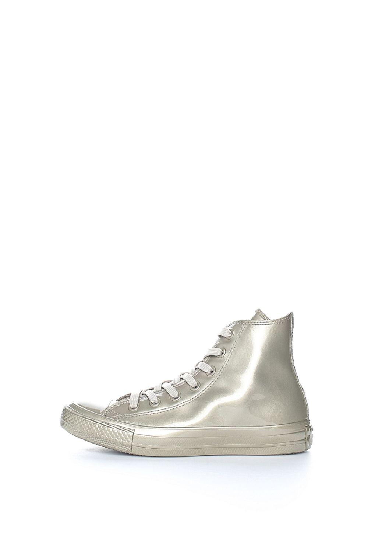 CONVERSE – Αδιάβροχα sneakers Chuck Taylor All Star Μetallic χρυσά