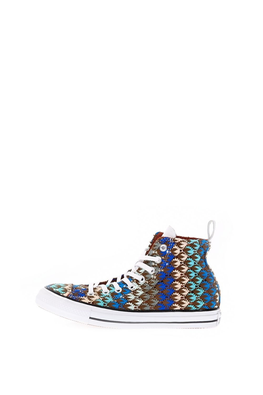 CONVERSE – Γυναικεία ψηλά sneakers CONVERSE Chuck Taylor All Star Hi καφέ μπλε