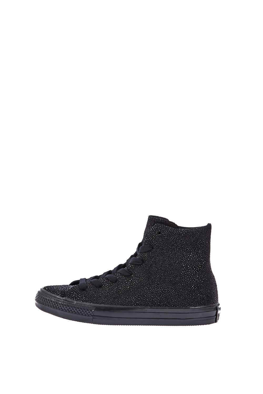 CONVERSE – Γυναικεία ψηλά sneakers CONVERSE Chuck Taylor All Star Gemma Hi μαύρα