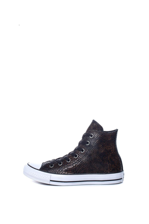 CONVERSE – Γυναικεία ψηλά sneakers CONVERSE Chuck Taylor All Star Hi καφέ