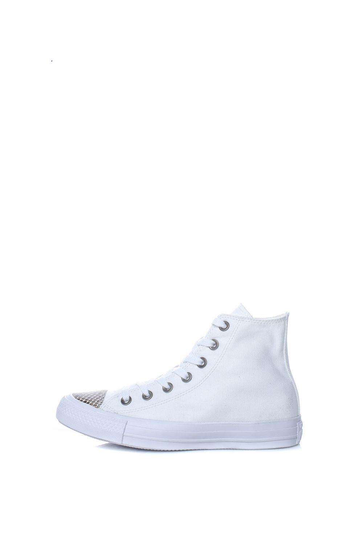 CONVERSE - Γυναικεία ψηλά sneakers CONVERSE Chuck Taylor All Star Hi λευκά