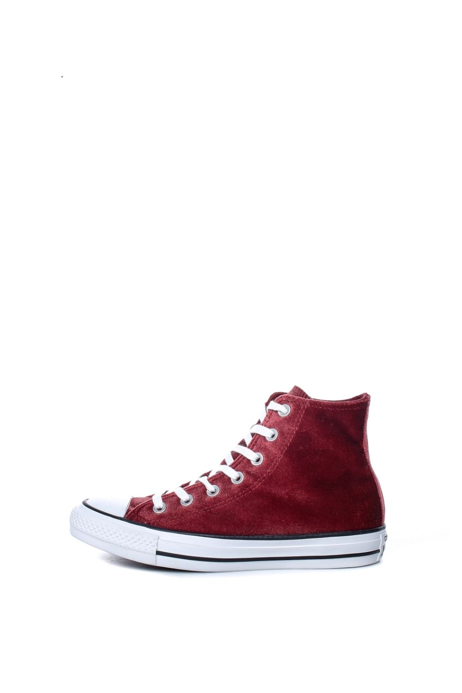 CONVERSE – Γυναικεία ψηλά sneakers CONVERSE Chuck Taylor All Star Hi μπορντό