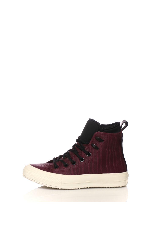 CONVERSE – Γυναικεία ψηλά sneakers CONVERSE CHUCK TAYLOR WP BOOT HI μπορντό
