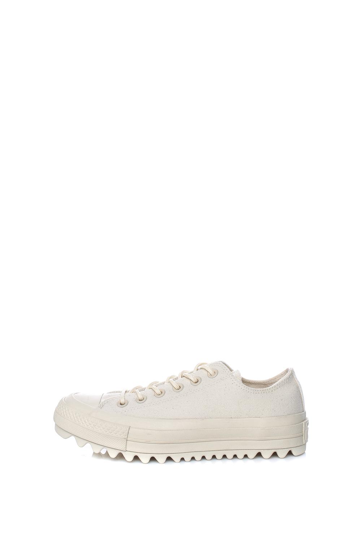 CONVERSE – Γυναικεία sneakers Converse Chuck Taylor All Star Lift Rip μπεζ