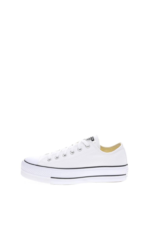 CONVERSE – Γυναικεία sneakers CONVERSE CHUCK TAYLOR ALL STAR LIFT λευκά