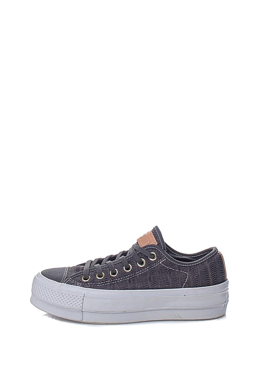 CONVERSE - Γυναικεία sneakers CONVERSE Chuck Taylor All Star Ox γκρι