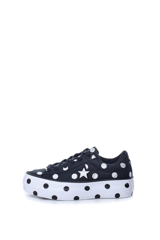 CONVERSE – Γυναικεία παπούτσια CONVERSE One Star Platform Ox μπλε