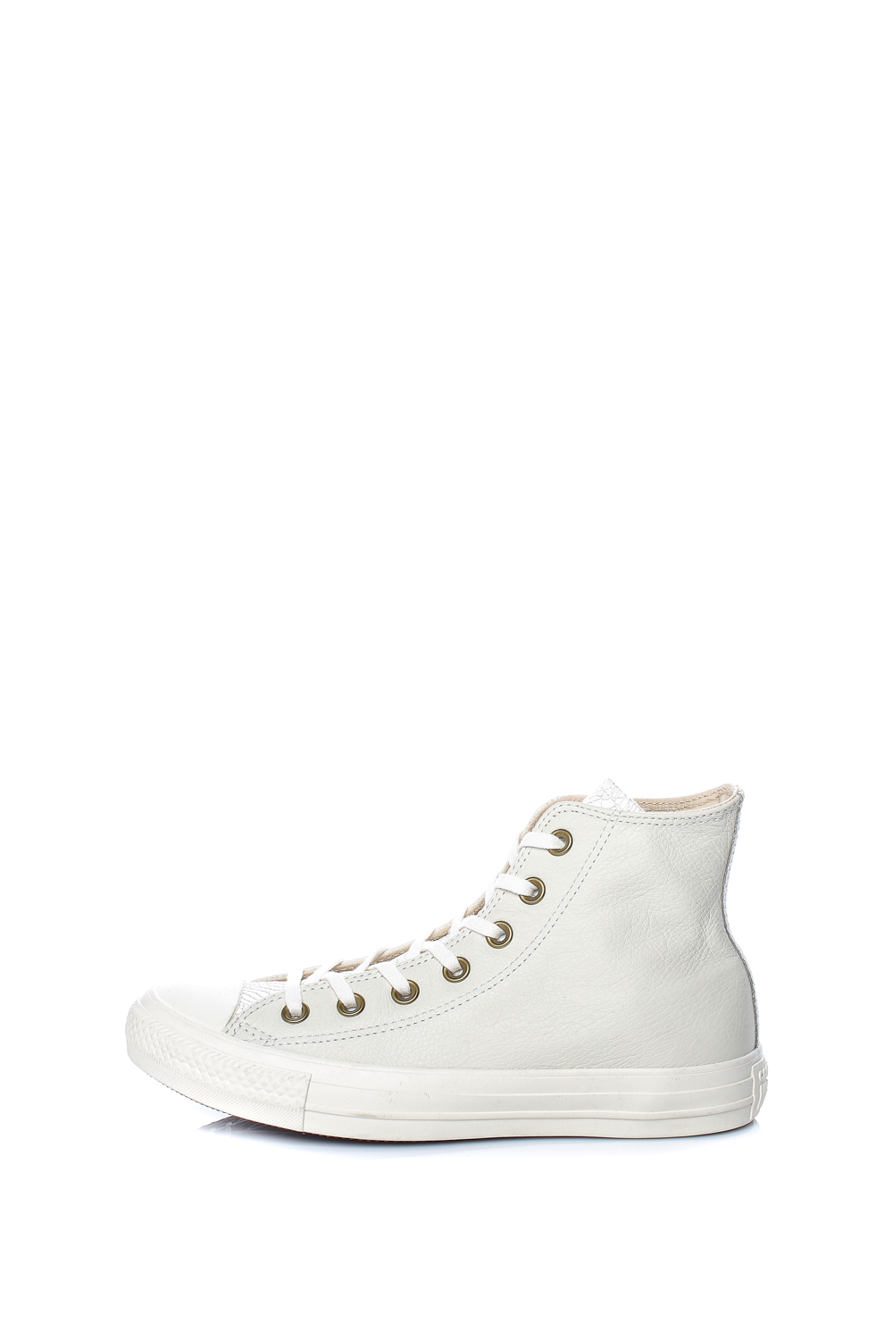 Collective Online CONVERSE – Γυναικεία δερμάτινα μποτάκια Chuck Taylor All  Star Hi λευκά 39e4cd4debb