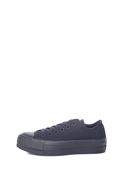 CONVERSE – Γυναικεία δίπατα sneakers CONVERSE Chuck Taylor All Star Lift μαύρα