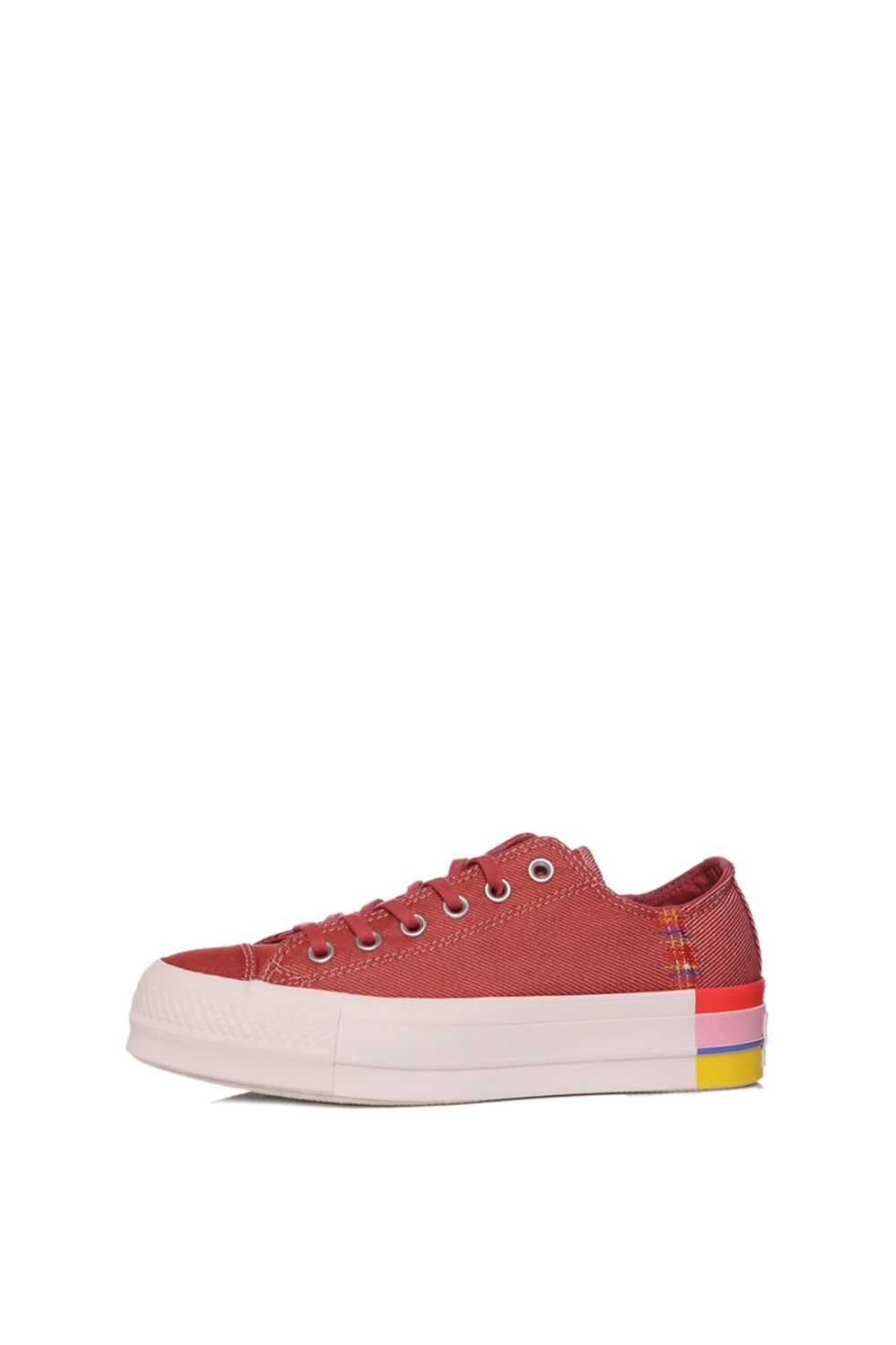 CONVERSE – Γυναικεία sneakers CONVERSE CHUCK TAYLOR ALL STAR LIFT κόκκινα