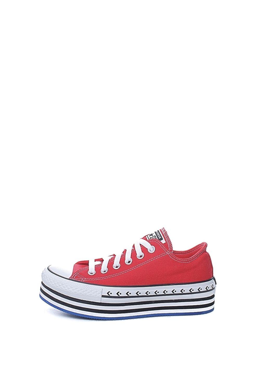 CONVERSE – Γυναικεία sneakers CONVERSE CHUCK TAYLOR ALL STAR LIFT ARC κόκκινα