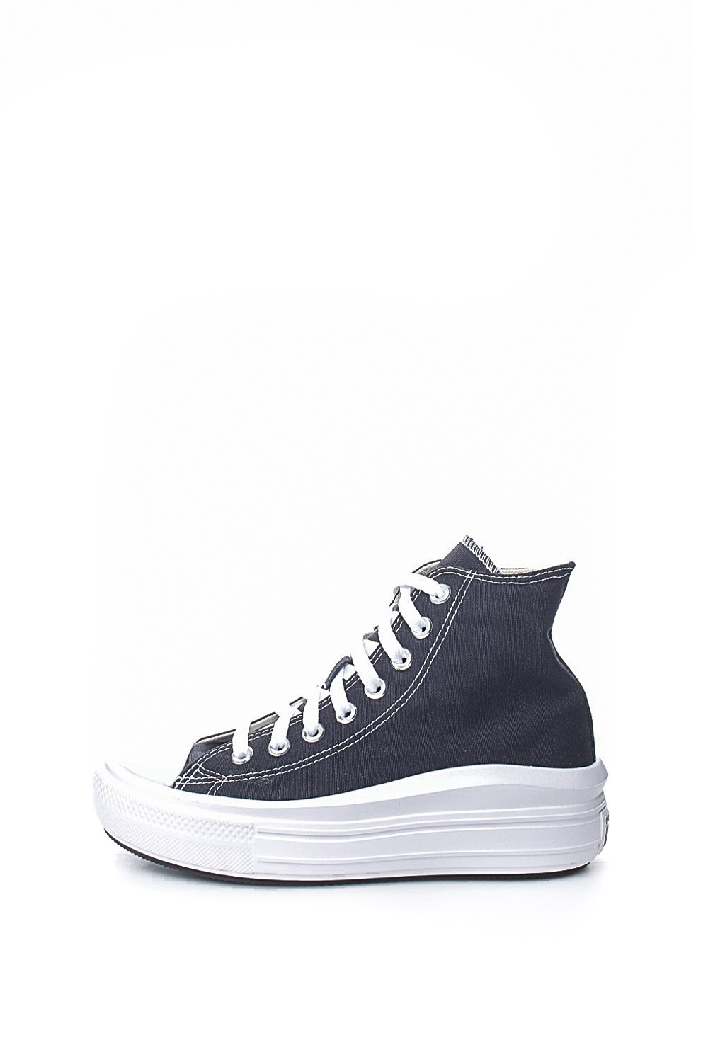 CONVERSE – Γυναικεία ψηλά sneakers CONVERSE Chuck Taylor All Star Move μαύρα