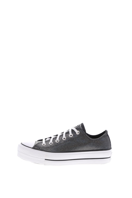 CONVERSE - Γυναικεία sneakers CONVERSE Chuck Taylor All Star Lift ασημί