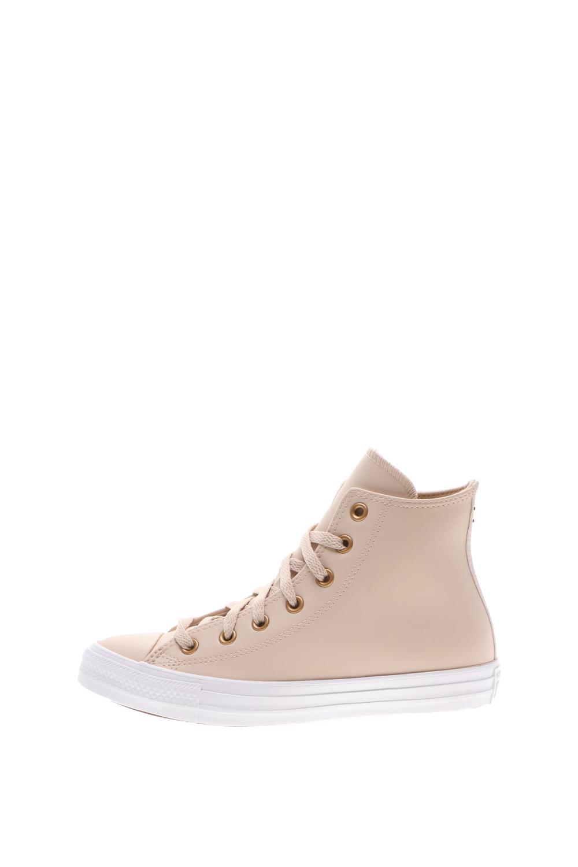 CONVERSE - Γυναικεία sneakers μποτάκια CONVERSE Chuck Taylor All Star καφέ