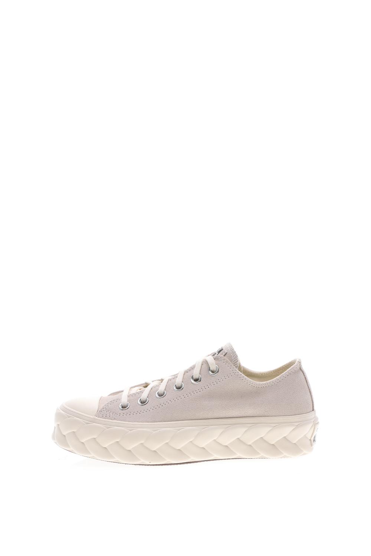 CONVERSE - Γυναικεία sneakers CONVERSE Chuck Taylor All Star Lift Cab λευκά