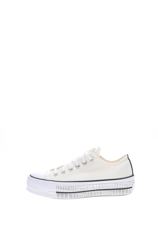 CONVERSE – Γυναικεία sneakers CONVERSE CHUCK TAYLOR ALL STAR PLATFORM εκρού