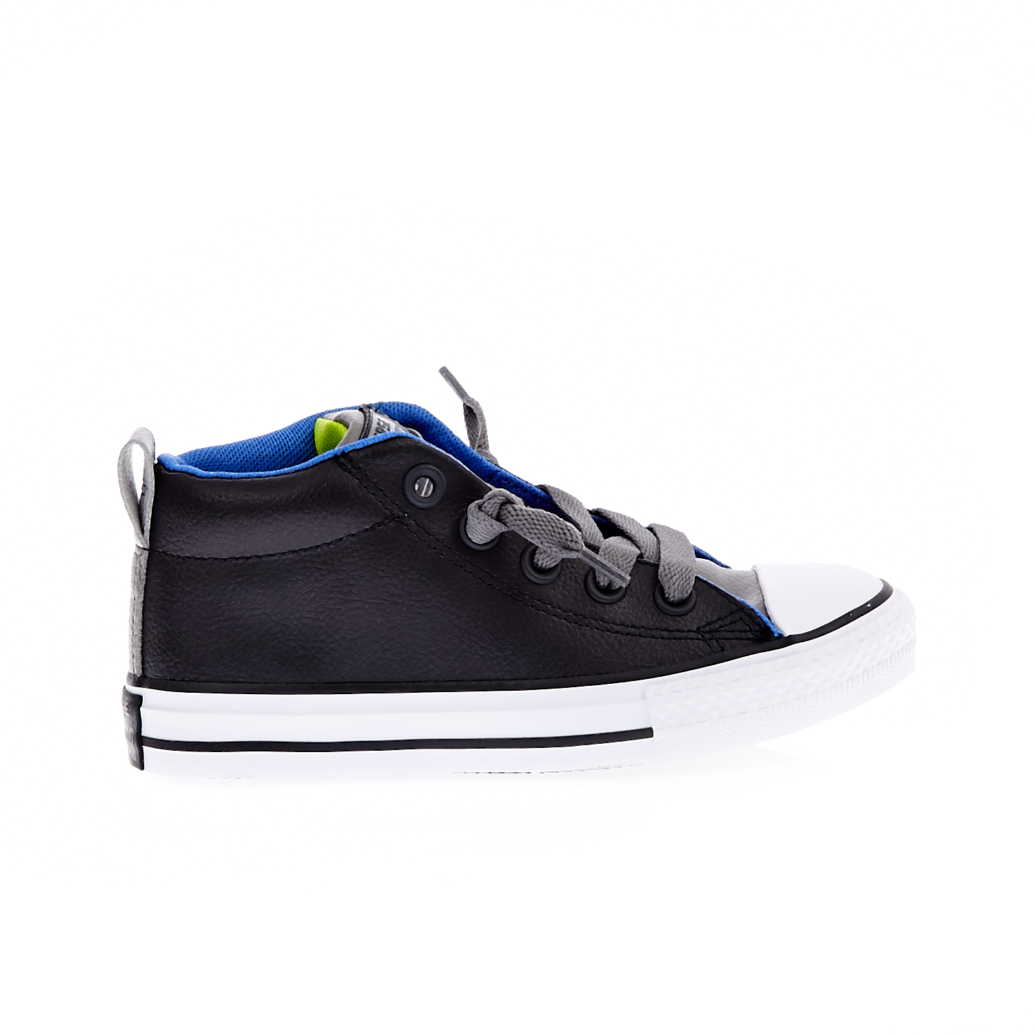 CONVERSE - Παιδικά Παπούτσια Chuck Taylor All Star Street M Ανθρακί-Μαύρα