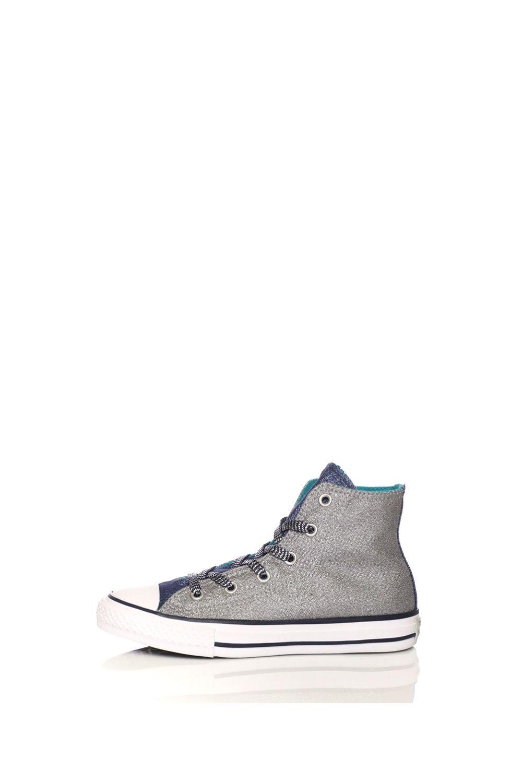 -48% Collective Online CONVERSE – Παιδικά παπούτσια CONVERSE Chuck Taylor  All Star Hi ασημί-μπλε ceda279d6f3
