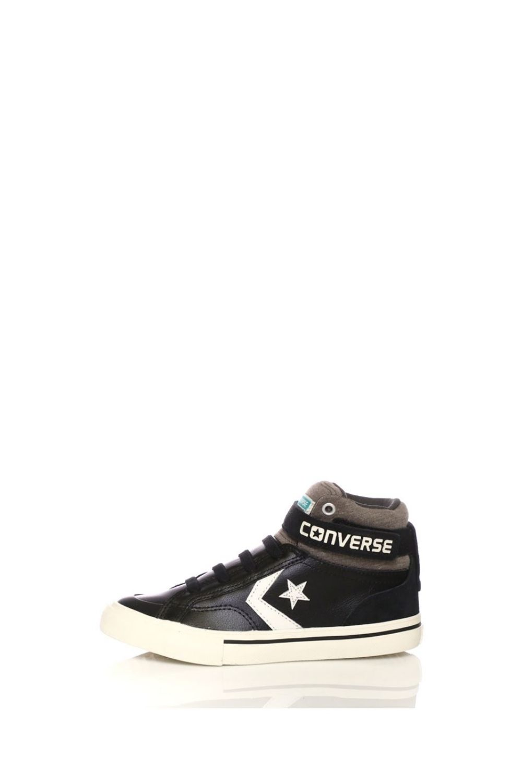 CONVERSE – Παιδικά ψηλά sneakers CONVERSE Pro Blaze Strap Stretch Hi μαύρα