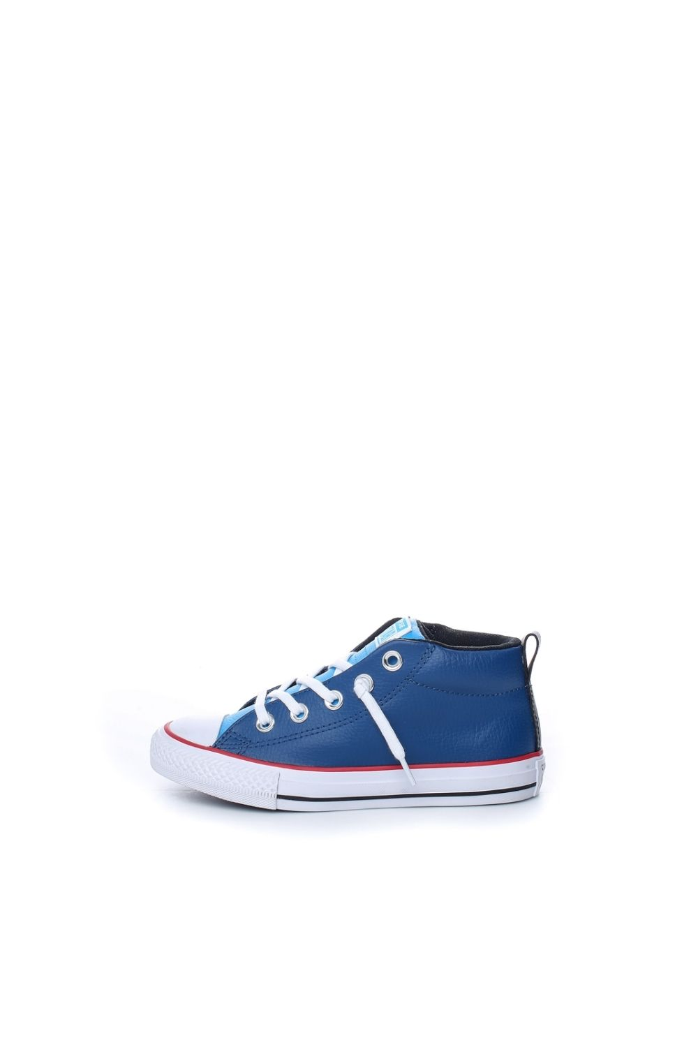 -20% Collective Online CONVERSE – Παιδικά δερμάτινα μποτάκια Chuck Taylor  All Star Street μπλε 3dbc67be34a
