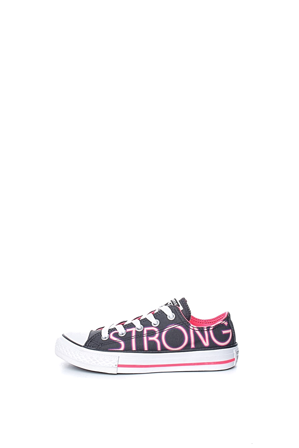 CONVERSE – Παιδικά sneakers Chuck Taylor All Star Ox μαύρα-ροζ