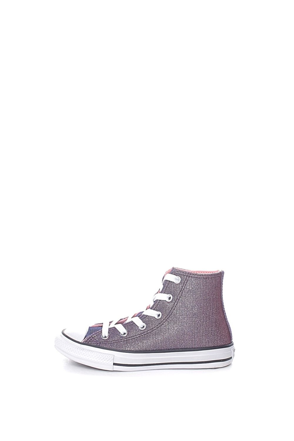 CONVERSE – Παιδικά μποτάκια sneakers CONVERSE CHUCK TAYLOR ALL STAR μωβ