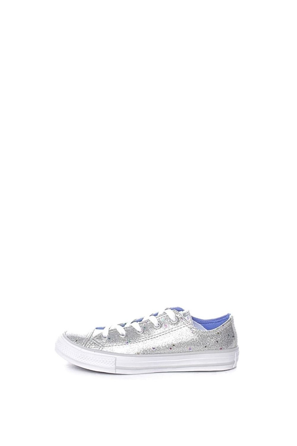 CONVERSE – Παιδικά sneakers CONVERSE CHUCK TAYLOR ALL STAR ασημί