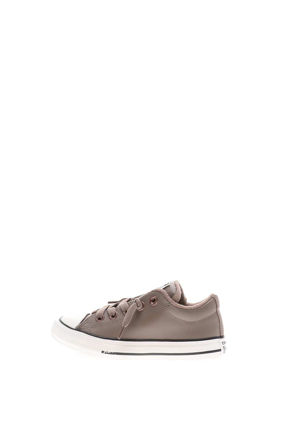 CONVERSE – Παιδικά sneakers CONVERSE Chuck Taylor All Star γκρί-μπέζ