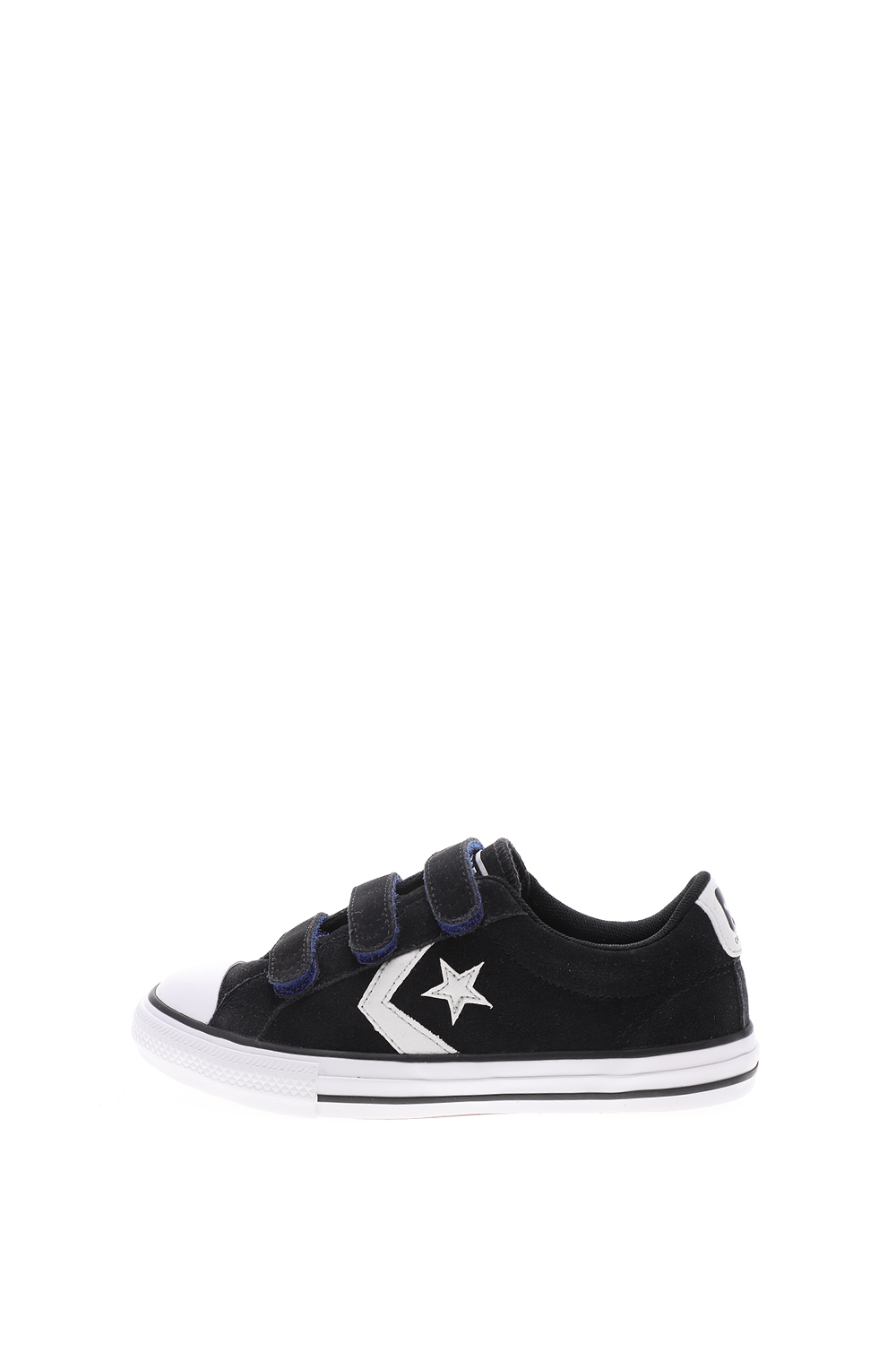 CONVERSE – Παιδικά sneakers CONVERSE STAR PLAYER 3V ΥΠΟΔΗΜΑ μαύρα