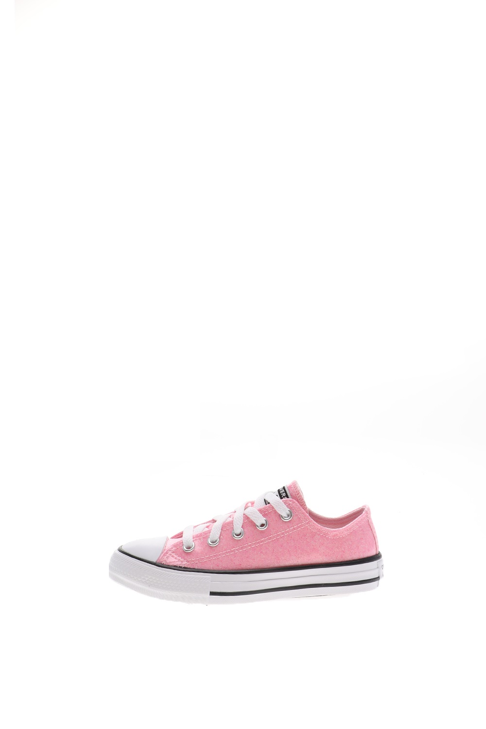CONVERSE – Παιδικά sneakers CONVERSE CHUCK TAYLOR ALL STAR COATED G ροζ