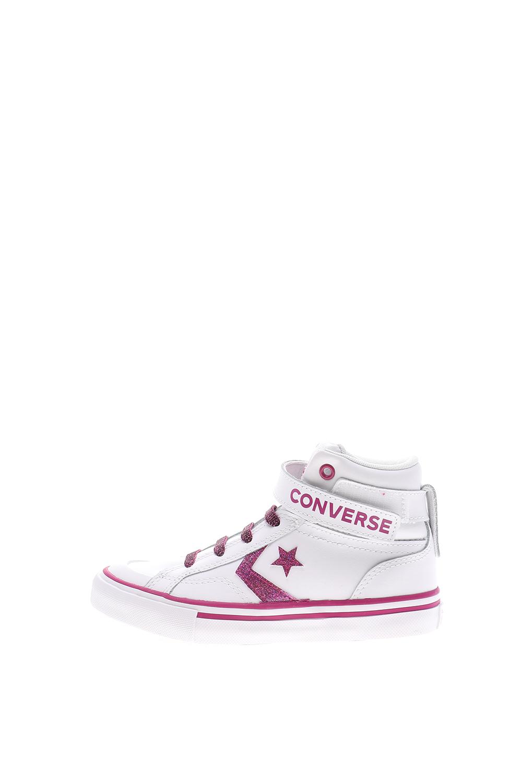 CONVERSE – Παιδικά sneakers CONVERSE Pro Blaze Strap λευκά