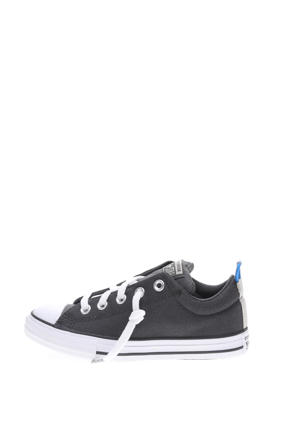 CONVERSE – Παιδικά sneakers CONVERSE CHUCK TAYLOR ALL STAR STREET S γκρι