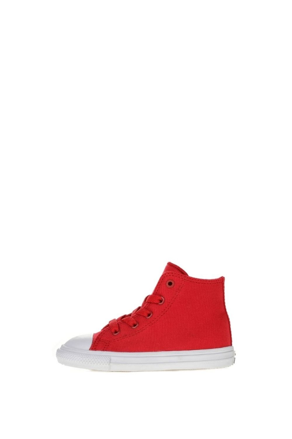 CONVERSE – Βρεφικά ψηλά sneakers CONVERSE Chuck Taylor All Star II Hi κόκκινα