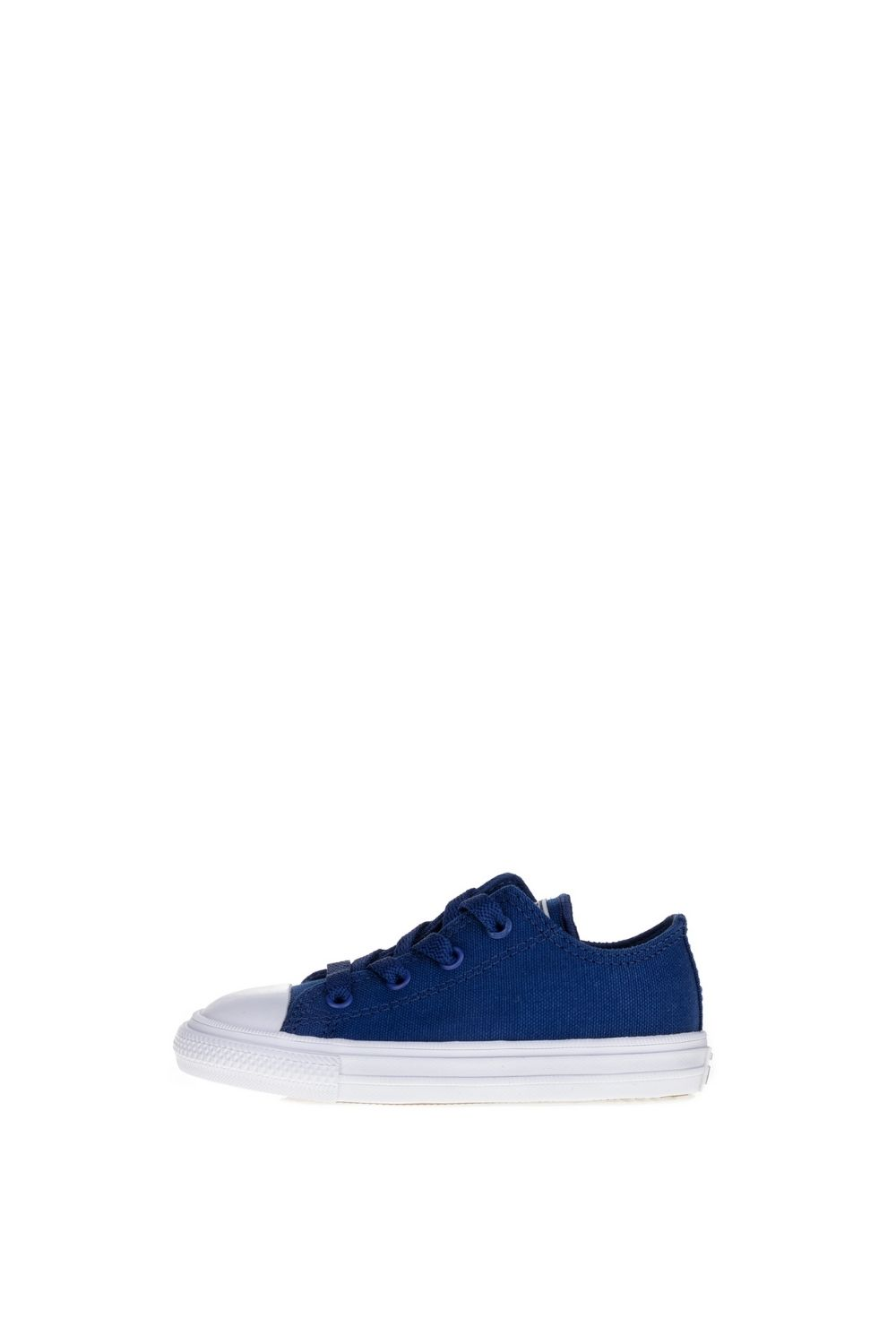 CONVERSE – Βρεφικά ψηλά sneakers CONVERSE Chuck Taylor All Star II Ox μπλε