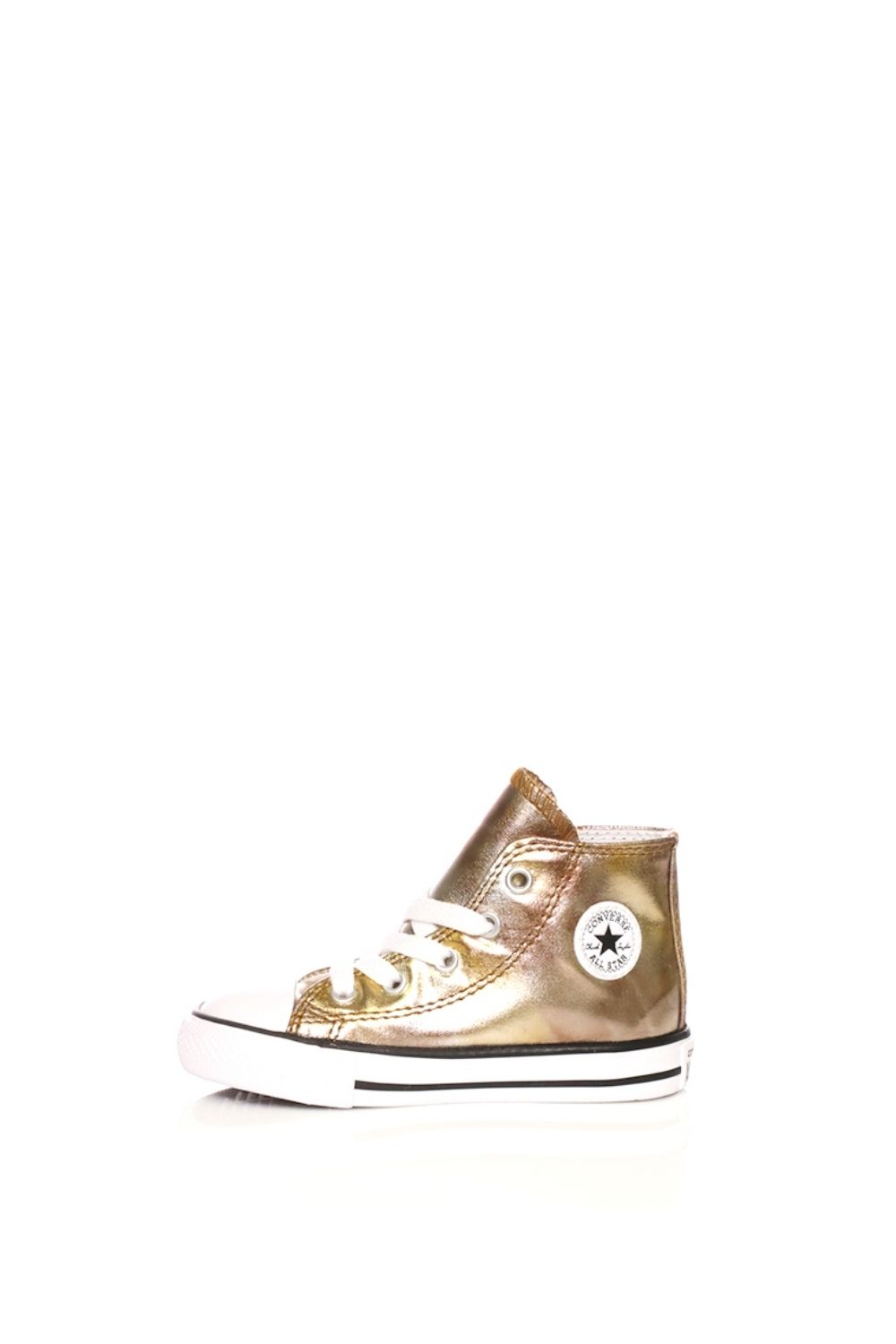 -48% Collective Online CONVERSE – Βρεφικά sneakers CONVERSE Chuck Taylor  All Star Hi χρυσά 02bf2883f9a