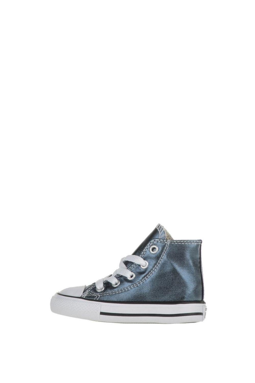 CONVERSE – Βρεφικά ψηλά sneakers CONVERSE Chuck Taylor All Star Hi μπλε