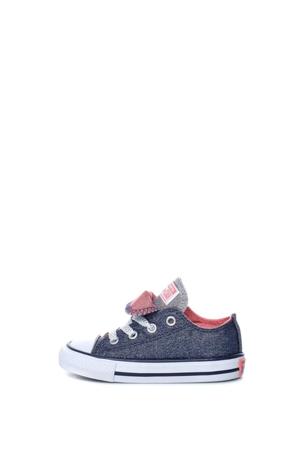 -49% Collective Online CONVERSE – Βρεφικά παπούτσια Chuck Taylor All Star  Double μπλε f93485663f4