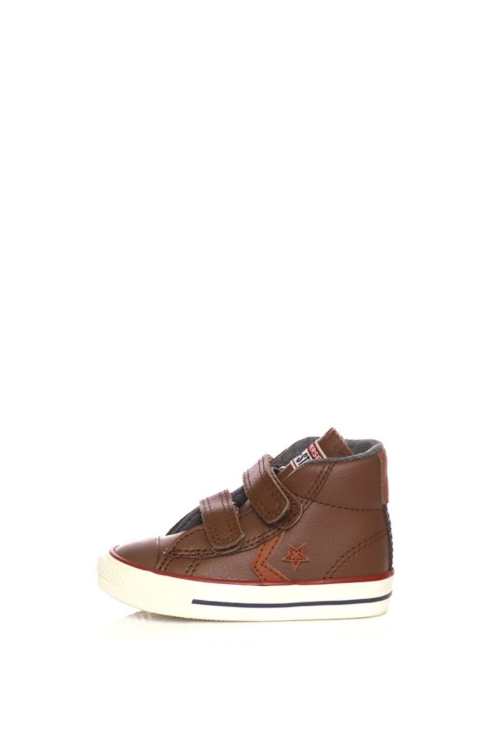 CONVERSE – Βρεφικά ψηλά sneakers CONVERSE Star Player EV V Mid καφέ
