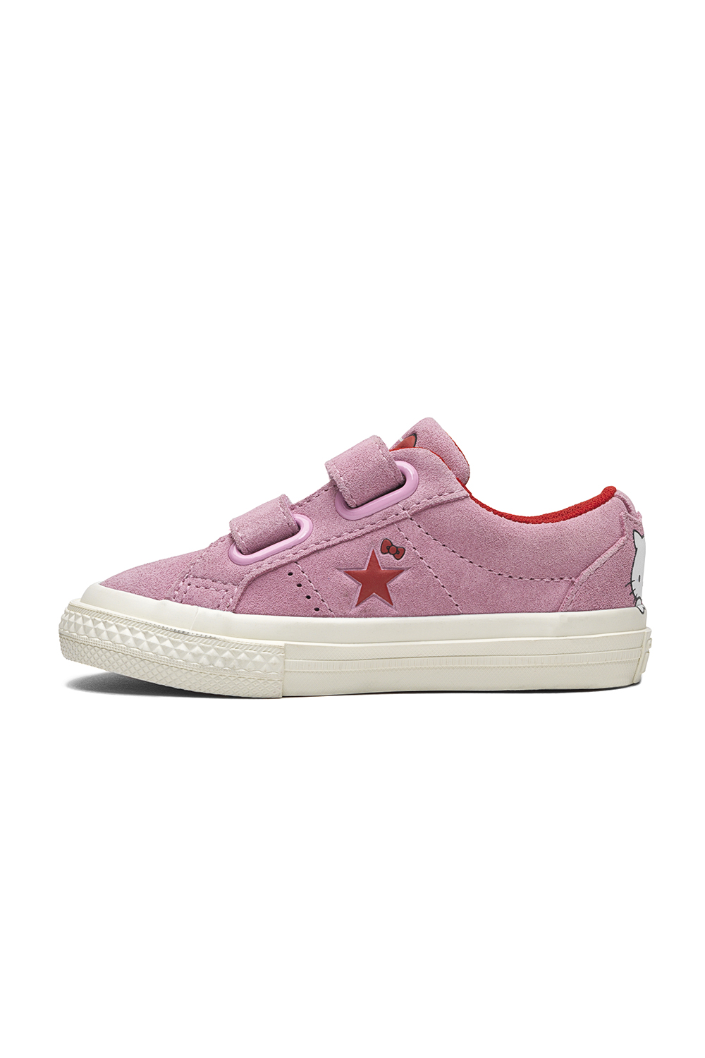 1a13c9733dd -40% CONVERSE – Βρεφικά sneakers Converse x Hello Kitty One Star ροζ