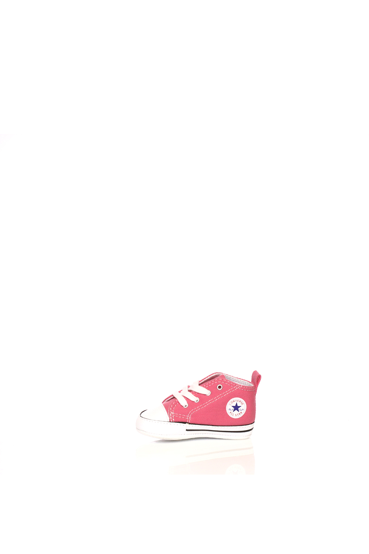 CONVERSE – Βρεφικό μποτάκι Converse Chuck Taylor First Star Hi ροζ