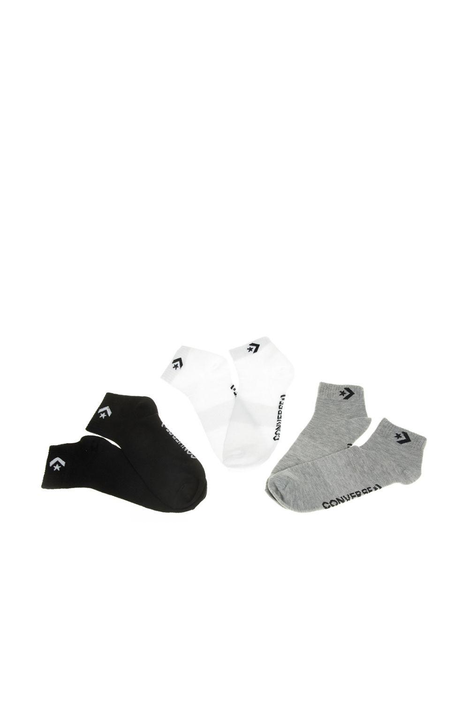 CONVERSE - Ανδρικές κάλτσες σετ των 3 CONVERSE λευκό μαύρο γκρι